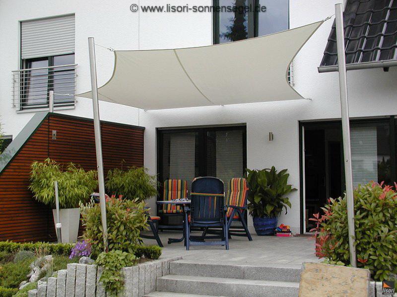 sonnensegelmasten aus edelstahl die lagerung. Black Bedroom Furniture Sets. Home Design Ideas