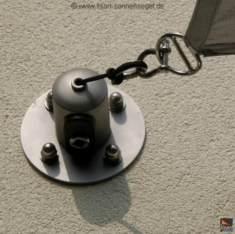 befestigung des sonnensegels segelmasten segel nach ma. Black Bedroom Furniture Sets. Home Design Ideas