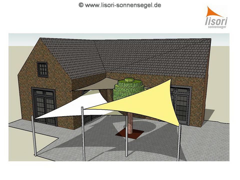 sonnensegelplanung sonnenschutz von lisori sonnensegel design. Black Bedroom Furniture Sets. Home Design Ideas